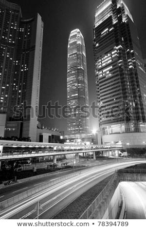 affollato · centro · costruzione · Hong · Kong · cielo · muro - foto d'archivio © kawing921