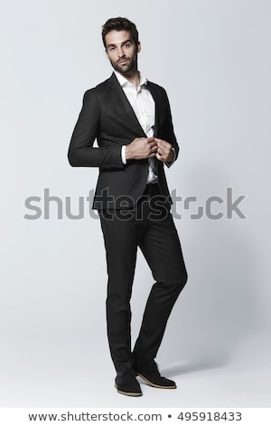 Full length view of handsome guy stock photo © stockyimages
