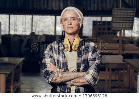 carpenter gesturing stock photo © photography33
