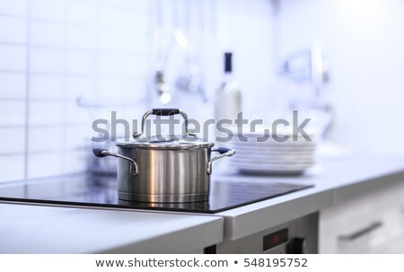 modern saucepan Stock photo © perysty