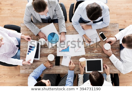 Sales team meeting Stock photo © photography33