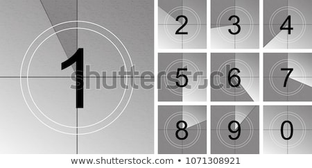 Cinema Countdown Stock photo © idesign