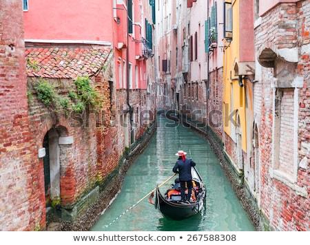 ボート ヴェネツィア 海岸 イタリア 空 水 ストックフォト © tepic