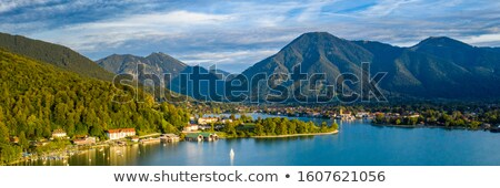 View to lake Tegernsee, Bavaria Stock photo © haraldmuc