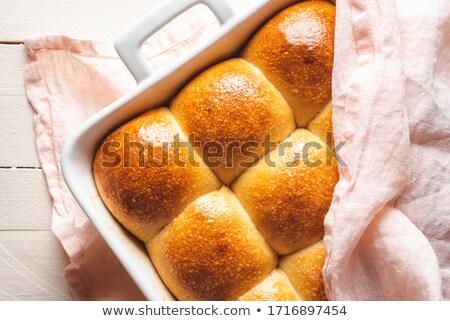 Baked bun Stock photo © Givaga