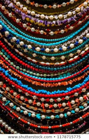 Pas cher bijoux coloré espace de copie Photo stock © cobaltstock
