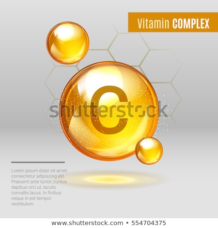 ビタミンc ドロップ レモン ジュース 下がり ダウン ストックフォト © idesign