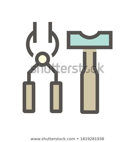 Pliers Grip Area Stock photo © Gordo25