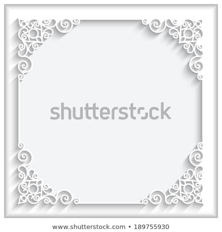 Swirly Vector Layout Stock photo © ArenaCreative