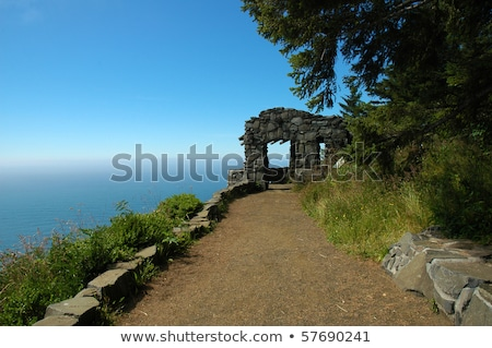 Cape Perpetua lookout, Oregon coast. Stock photo © Rigucci