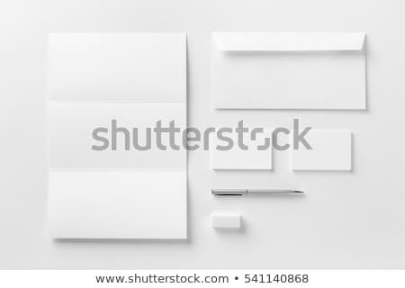Grupo envelope branco computador tecnologia assinar Foto stock © kolobsek