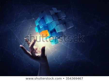 Uniqueness Concept Cube Stock photo © NiroDesign