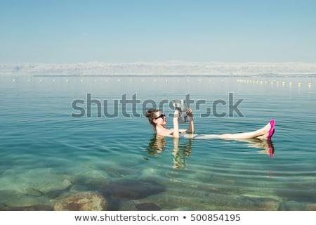touristischen · Komplex · Himmel · Wasser · Landschaft - stock foto © eldadcarin