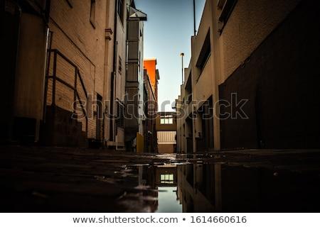 Stock photo: Dirty narrow streets