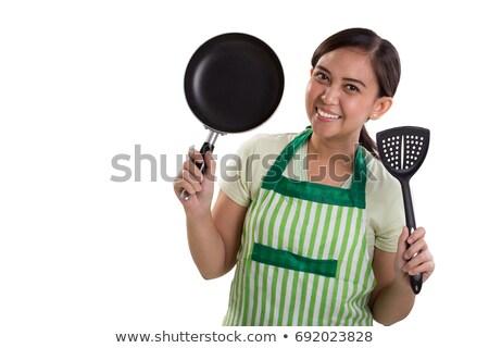小さな メイド 料理 器具 肖像 ストックフォト © wavebreak_media