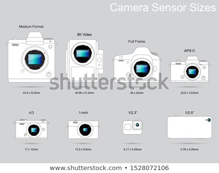 Dslr digitális fényképezőgép technológia fekete profi modern Stock fotó © cheyennezj