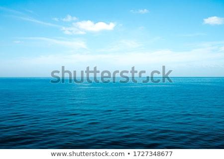 Ozean Oberfläche Luftbild schaumig Wasser abstrakten Stock foto © RazvanPhotography