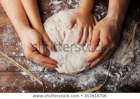 ребенка столе изображение рук Сток-фото © gewoldi