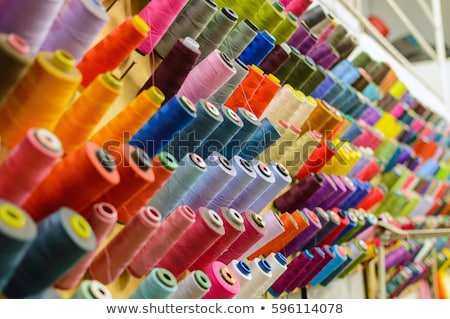 Silk textile industry background Stock photo © ABBPhoto
