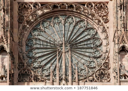 interior of Cathedral Notre Dame, Strasbourg, Alsace, France Stock photo © phbcz