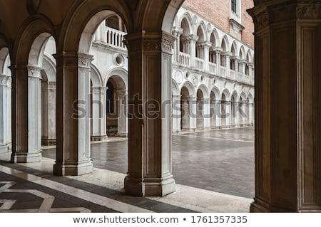 Colonne galerie Venise ville Voyage architecture Photo stock © Nejron
