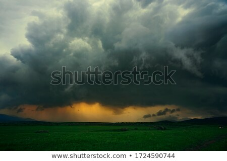 Dramatic, stormy sky Stock photo © Julietphotography