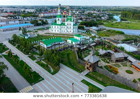 Sretensky cathedral in Yalutorovsk. Russia Stock photo © Aikon