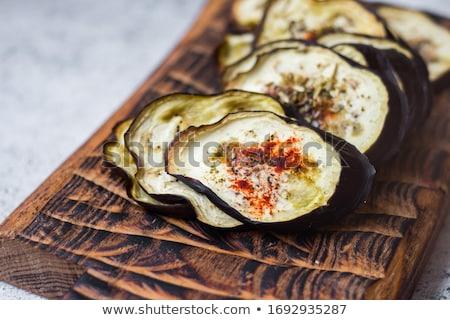 baked aubergine Stock photo © M-studio
