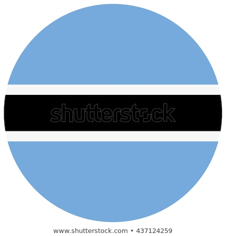 round button with flag of botswana stock photo © mikhailmishchenko