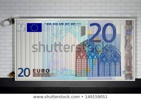 Casa 10 euro negócio dinheiro Foto stock © Ustofre9
