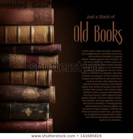 Stack Of Used Old Books Stock photo © stevanovicigor