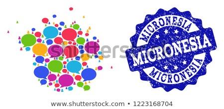Micronesia word cloud Stock photo © tang90246