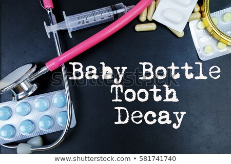 Tooth decay word cloud Stock photo © tang90246