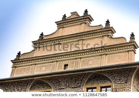 Stok fotoğraf: ünlü · saray · Prag · kale · kare · bir