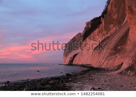 Denemarken voorjaar natuur zee bomen zomer Stockfoto © Arrxxx