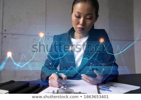 Nota agenda pen business papier boek Stockfoto © fuzzbones0