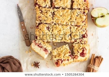 クリスマス リンゴ ケーキ 1 全体 自家製 ストックフォト © rojoimages