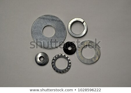 Metal śruby przemysłowych tekstury selektywne focus Zdjęcia stock © stevanovicigor