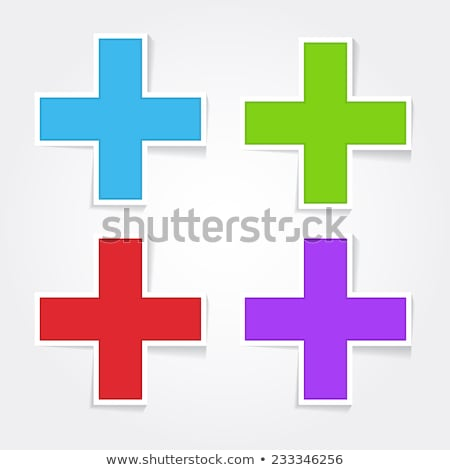 Mathematical Sign Red Vector Icon Button Stock photo © rizwanali3d