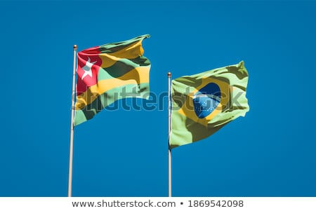 Brazil and Togo Flags  Stock photo © Istanbul2009
