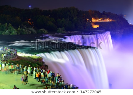 Niagara Falls zonsopgang ontario Canada water natuur Stockfoto © CaptureLight