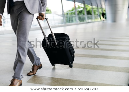 Affaires voyageur bagages vitesse gare technologie Photo stock © ssuaphoto