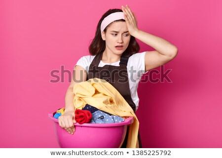 Сток-фото: красивая · девушка · белый · шелковые · рубашку · изолированный