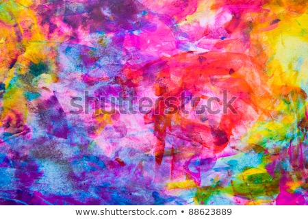Summer background with paint daubs Stock photo © Sonya_illustrations