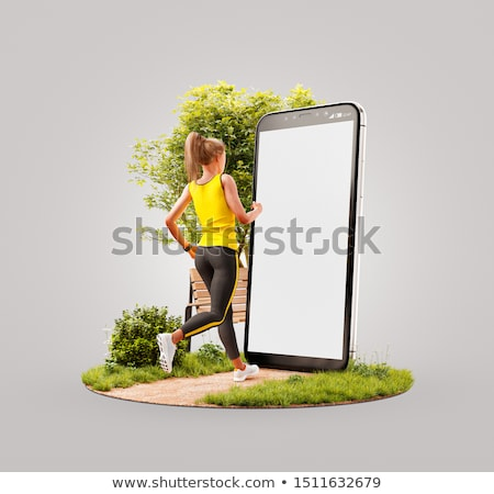 3D Rendering tracking with GPS Stock photo © alphaspirit