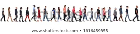 Group of people walking Stock photo © bluering