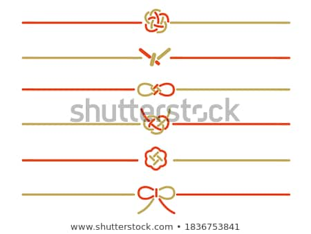 Red bowknot stock photo © cundm