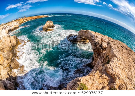 Sea caves near Ayia Napa. The south eastern coast of Cyprus Stock photo © Kirill_M