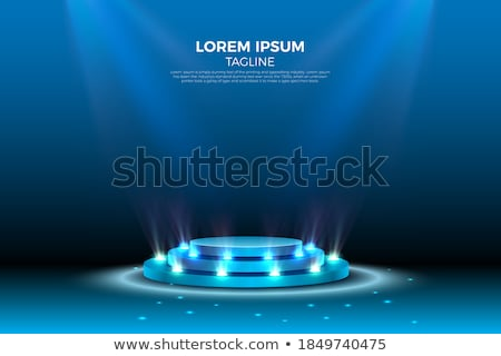 Podium studio eps 10 świetle Zdjęcia stock © beholdereye