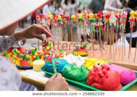 Vietnam traditioneel speelgoed leuk jongen markt Stockfoto © trocphunc